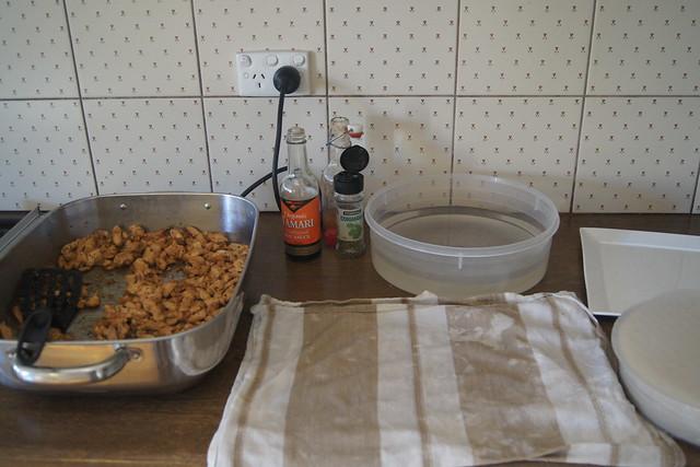 Chicken rice paper rolls (gluten free) DSC00186