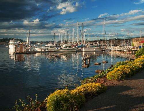sky water clouds sailboat port harbor boat washington nikon state orchard sound wa puget d300