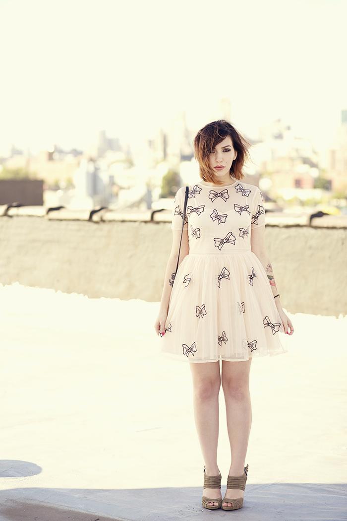 keiko lynn bow dress