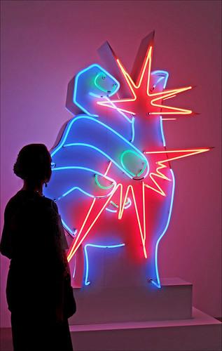 Martial Raysse au Centre Georges Pompidou