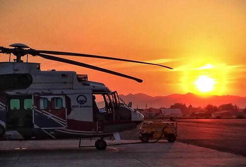sunrise asia helicopter easttimor timorlest