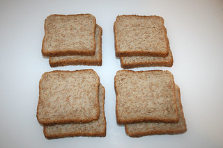 01 - Zutat Vollkorn-Toast / Ingredient wholewheat toast