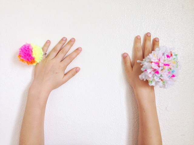 We Made It | Pom Pom Rings