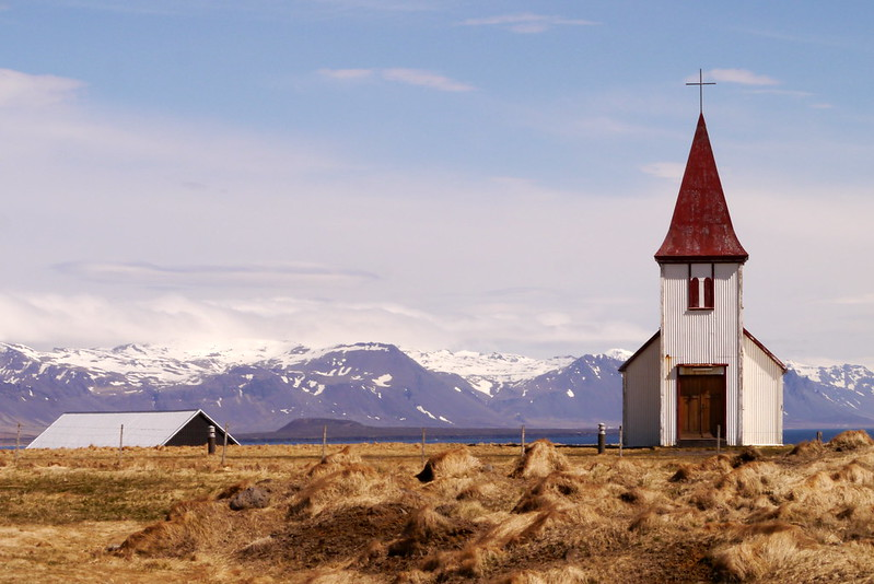 A typical Icelandic church
