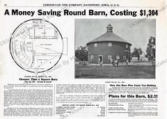 Gordon Van Tine 1910 Round Barn 201