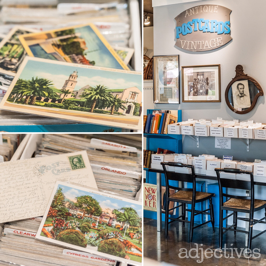Adjectives Featured Finds in Altamonte by Vintage Postcards