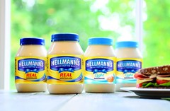 Packaging relaunch for Hellmann's Mayonnaise…