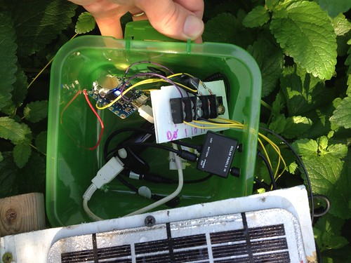Outdoor electroculture electronics