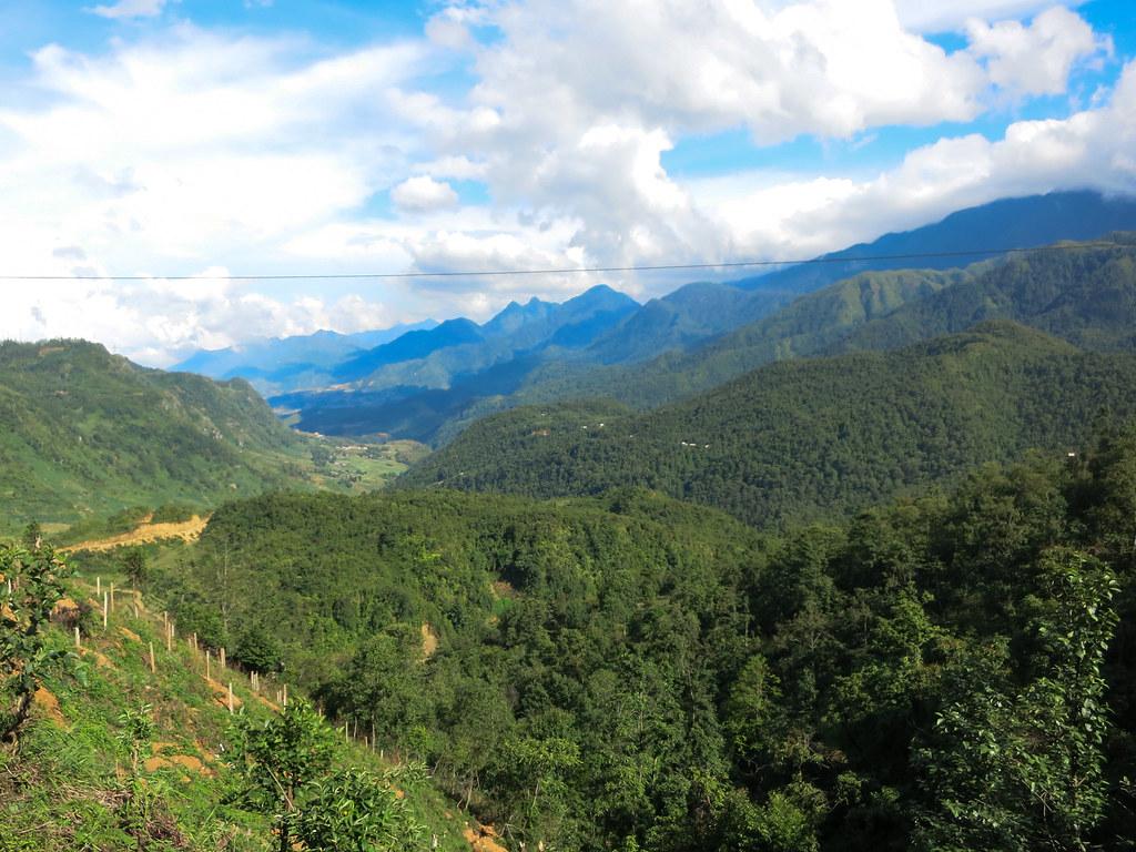 Sapa mountain pass