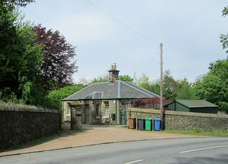 a lodge house