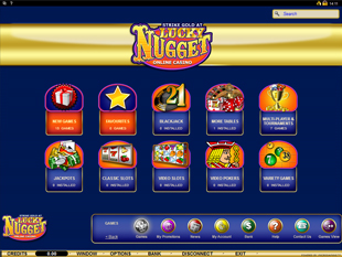 Lucky Nugget Casino Online