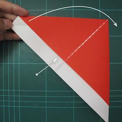 การพับกระดาษเป็นรูปสัตว์ประหลาดก็อตซิล่า (Origami Gozzila) 006