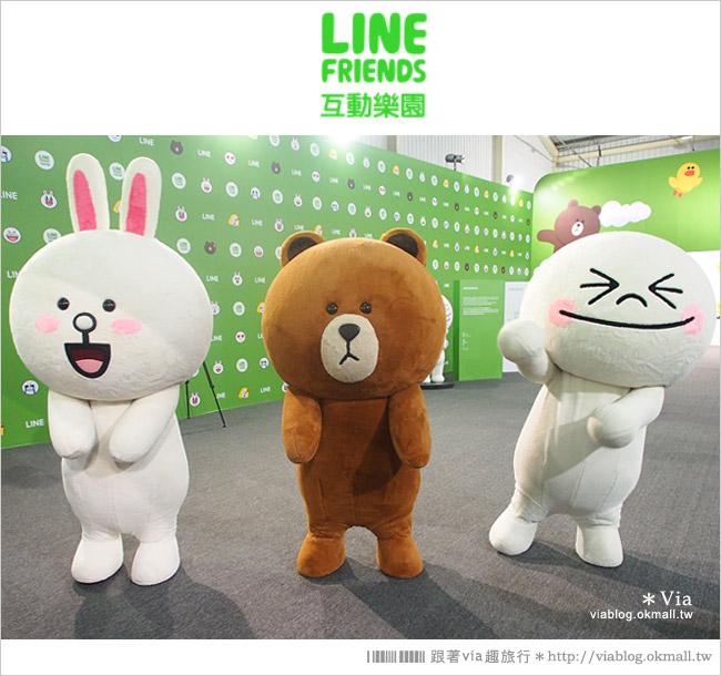 【台中line展2014】LINE台中展開幕囉!趕快來去LINE FRIENDS互動樂園玩耍去!(圖爆多)7