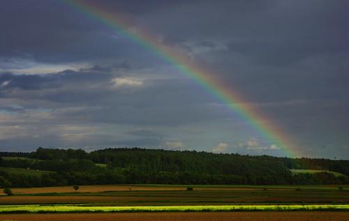 field austria österreich rainbow feld steiermark regenbogen styria badblumau elkaypics lutzkoch eaststyria