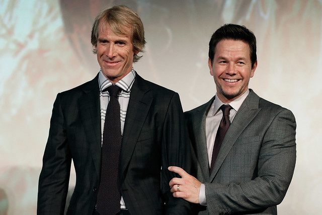 Michael Bay & Mark Wahlberg