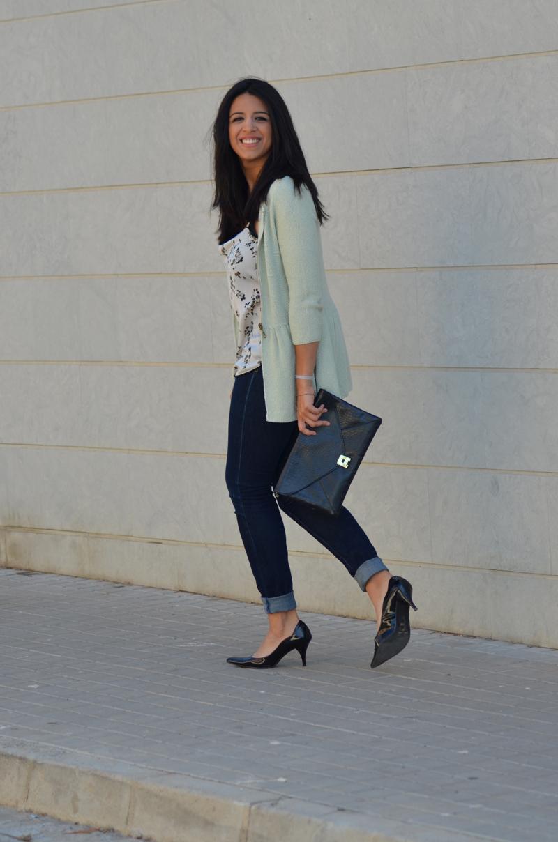 florenciablog working girl mint inspiration fashion blogger spain clutch zara look  (8)