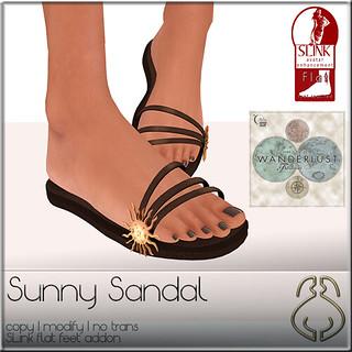 SYSY's-vend-SunnySandal-DarkBrown