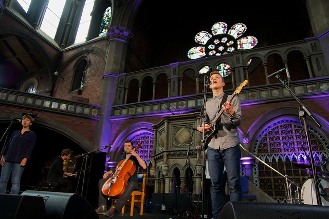 Wooden Arms at Daylight Music 7th June 2014