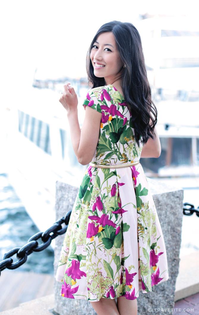 ted baker floral dress1