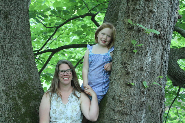 Mother and Daughter in a Tree