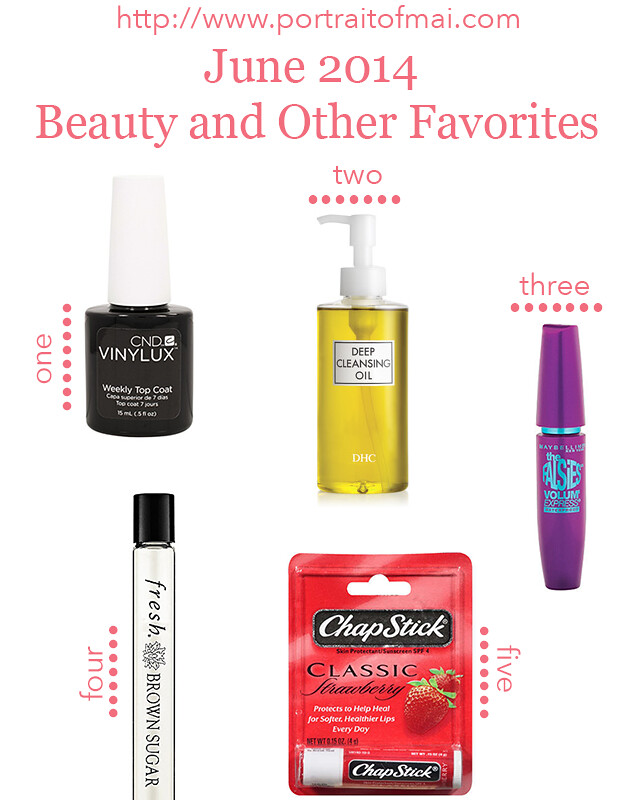 june 2014 beauty and other favorites