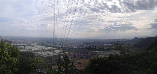 城ヶ峰 鉄塔からの眺望
