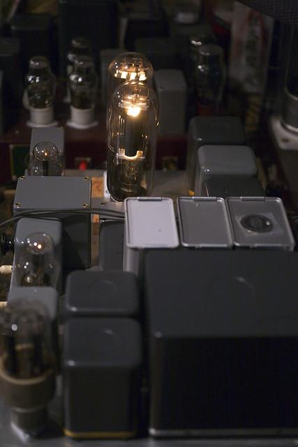 211 & 845 blended amplifier by Susumu Sakuma