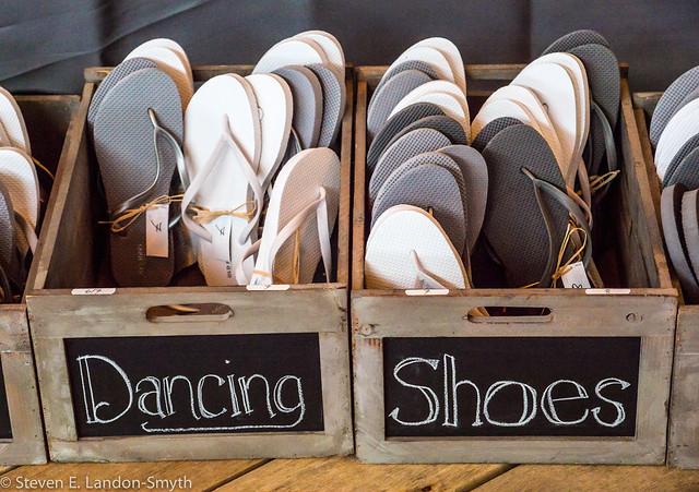 Beach Wedding Dancing Shoes