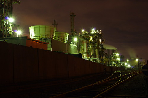 Nightscape at Kawasaki Industrial Zone 21