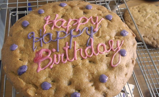 Giant Stacked Cookie Cake 18