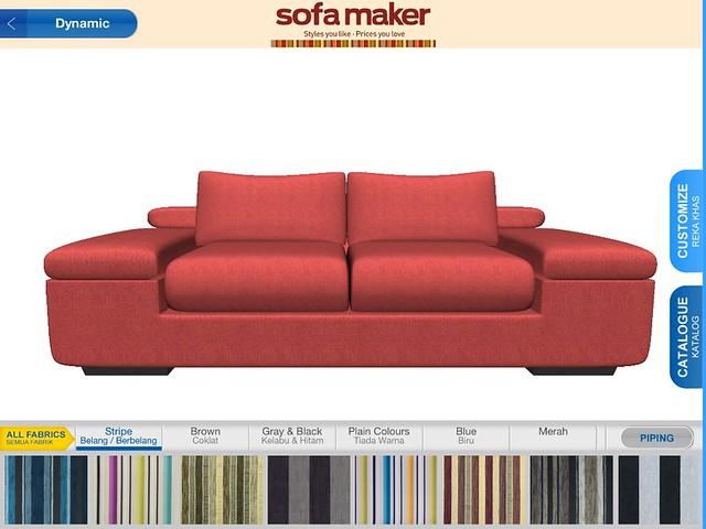 Courts - Sofa Maker Software Screenshot 2