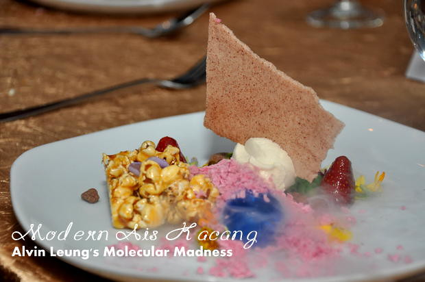 Alvin Leung Molecular Madness Modern Ais Kacang