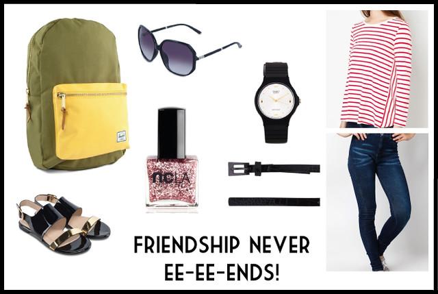 Bacpacks for Women - Friendship never ends!