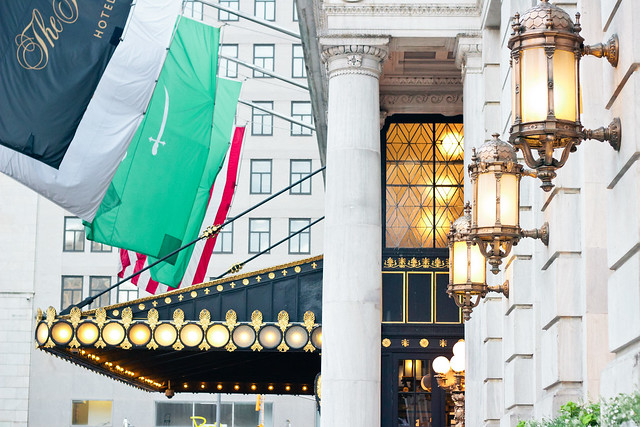 {the plaza hotel, nyc} via chevrons & éclairs