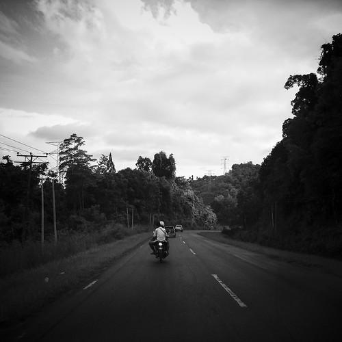 125 KM more to Tawau town.
