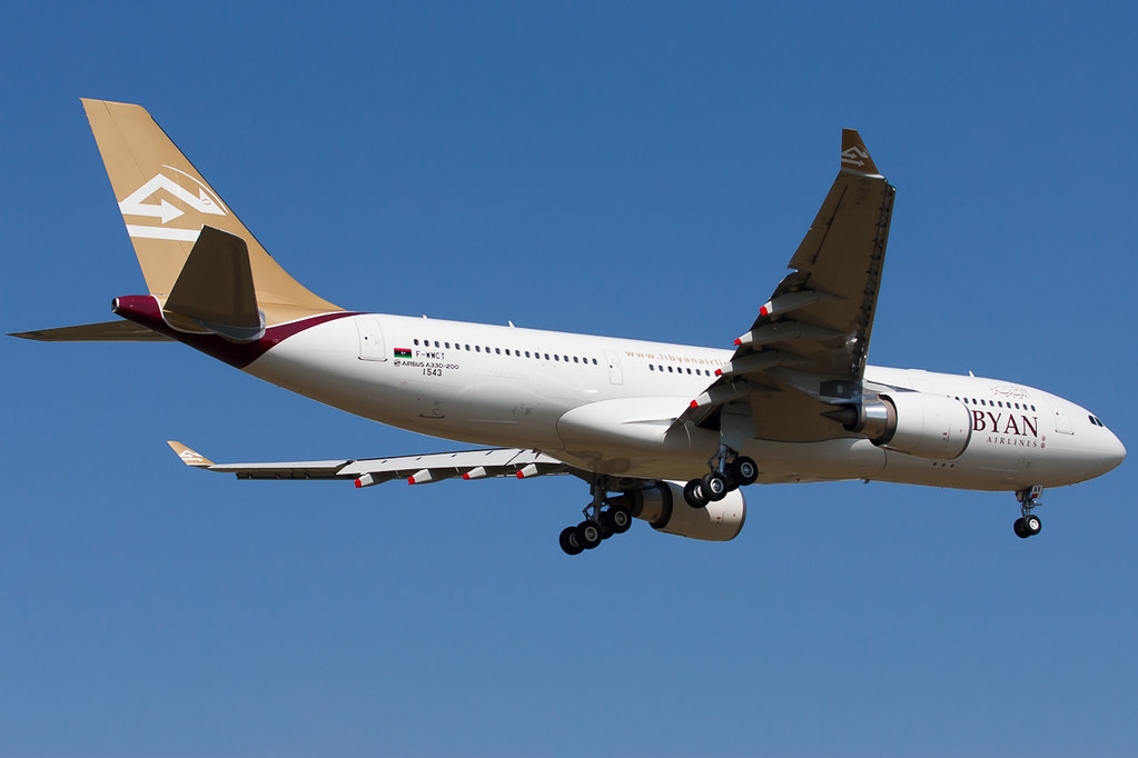 5A-LAU - A332 - Libyan Airlines