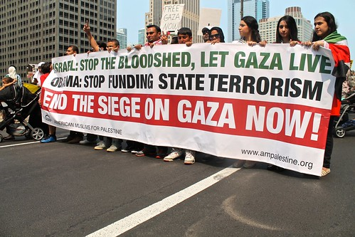 End the siege of Gaza now. Free Palestine!