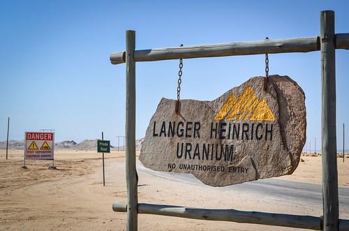 Langer Heinrich uranium mine