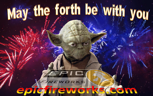 May The Fourth Be With You #EpicFireworks