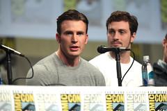 Chris Evans & Aaron Taylor-Johnson
