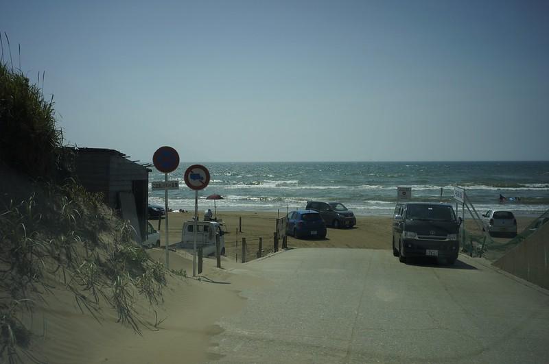 Chirihama Beach Drive Way