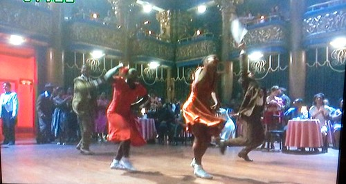 "Dancing at the Hotel Diplomat, NYC, NY (Still from Spike Lee's ""Malcolm X - 1992)002"