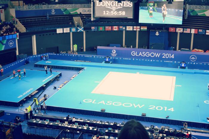 Glasgow 2014 gymnastics