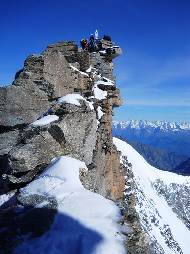 Gran Paradiso Summit Ridge