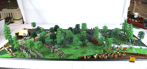 Battle of The Wilderness 1864, Brickfair Display Overview