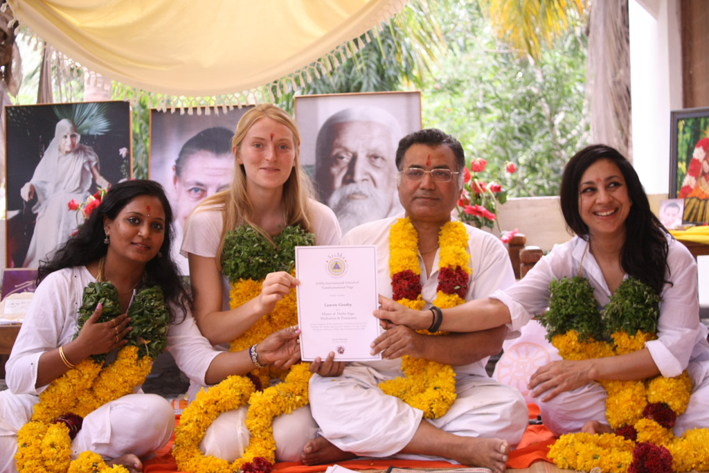 SriMa Transformational Yoga TTC, Auroville 2014