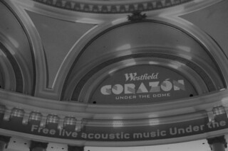 Free Live Acoustic Music in the City - Corazon Under The Dome lights