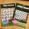 Paper copies are in the house!! #cosmicdelight #harmony #pattern #freckledwhimsy