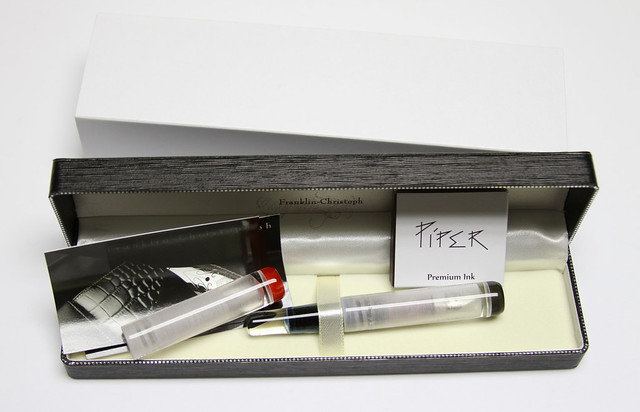 Review: Franklin-Christoph Model 40P Fountain Pen - Masuyama Broad Stub @1901FC