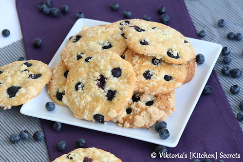Muffin Streusel Cookies, Viktoria's [Kitchen] Secrets